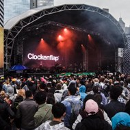 <p>Clockenflap Hong Kong's Music &amp; Arts Festival</p>