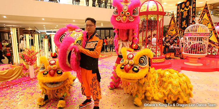Kwok Man-Lung, Leader and Head Coach of Kwok's Kung Fu & Dragon Lion Dance Team