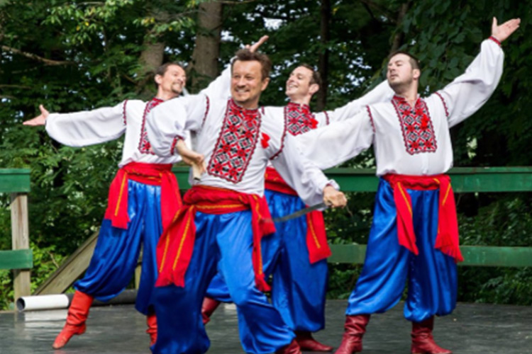 Kalyna Ukrainian Academic Folk Ensemble, Ukraine
