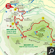 The Peak to Lung Fu Shan Country Park