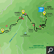 Tai Mo Shan map
